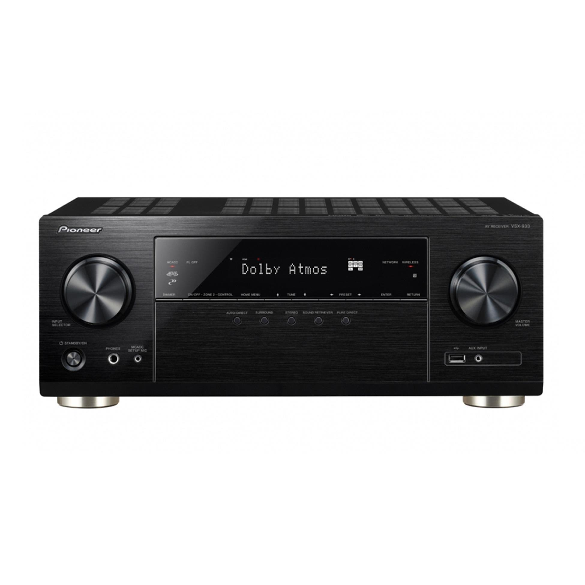 Richer Sounds Ireland - Pioneer VSX933 AV Receiver Black