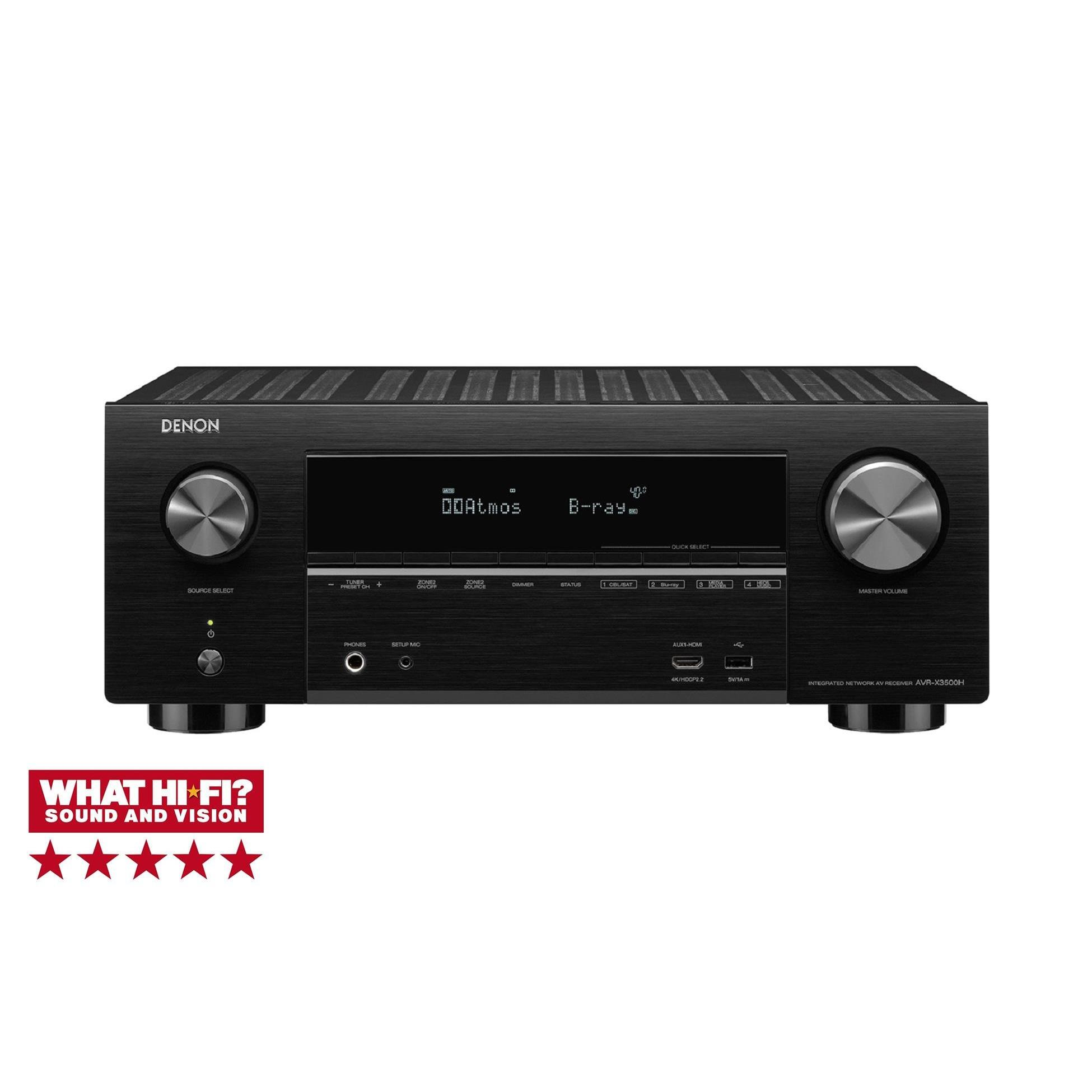 Richer Sounds Ireland - Denon AVRX3500H
