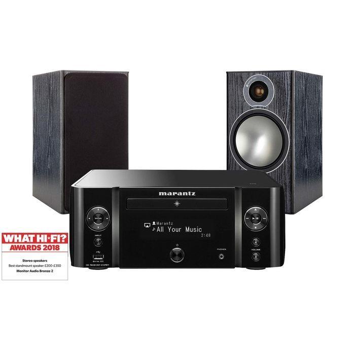 c4877602a2e Richer Sounds Ireland - MARANTZ MCR611 blk Monitor Audio Bronze 2 Black