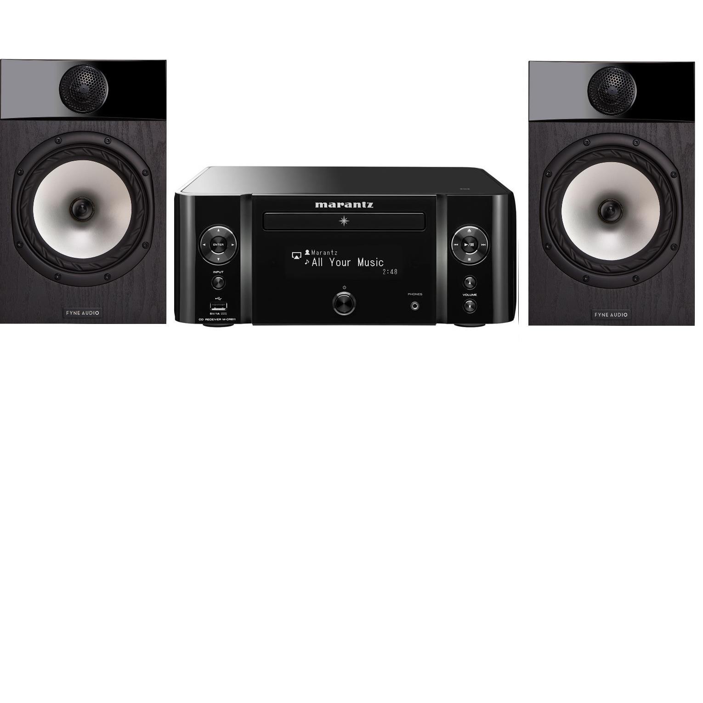 6476dfd4a49 Richer Sounds Ireland - MARANTZ MCR611 blk FYNE AUDIO F301 Black