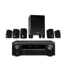 Richer Sounds Ireland - DENON AVRX250 JBL CINEMA 5 1 Speaker pack