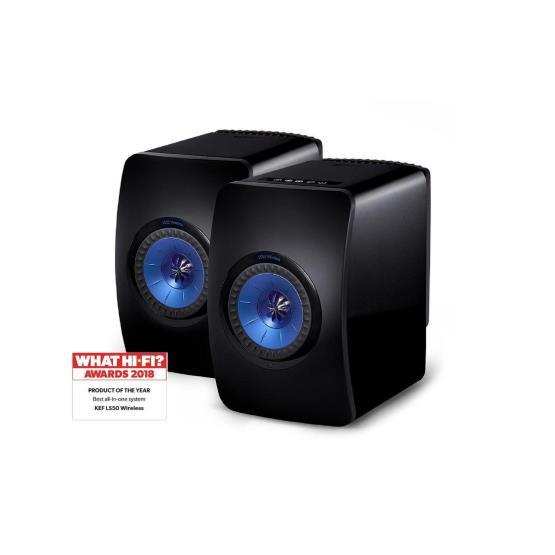 Richer Sounds Ireland - KEF LS50 WIRELESS Black