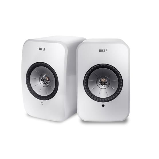 Richer Sounds Ireland - KEF LSX White